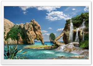 Paradise HD Wide Wallpaper for Widescreen