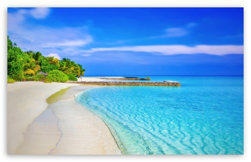 Paradise Beach HD wallpaper for Standard 4:3 5:4 Fullscreen UXGA XGA SVGA QSXGA SXGA ; Wide 16:10 5:3 Widescreen WHXGA WQXGA WUXGA WXGA WGA ; HD 16:9 High Definition WQHD QWXGA 1080p 900p 720p QHD nHD ; Other 3:2 DVGA HVGA HQVGA devices ( Apple PowerBook G4 iPhone 4 3G 3GS iPod Touch ) ; Mobile VGA WVGA iPhone iPad PSP Phone - VGA QVGA Smartphone ( PocketPC GPS iPod Zune BlackBerry HTC Samsung LG Nokia Eten Asus ) WVGA WQVGA Smartphone ( HTC Samsung Sony Ericsson LG Vertu MIO ) HVGA Smartphone ( Apple iPhone iPod BlackBerry HTC Samsung Nokia ) Sony PSP Zune HD Zen ; Tablet 2 Android ;