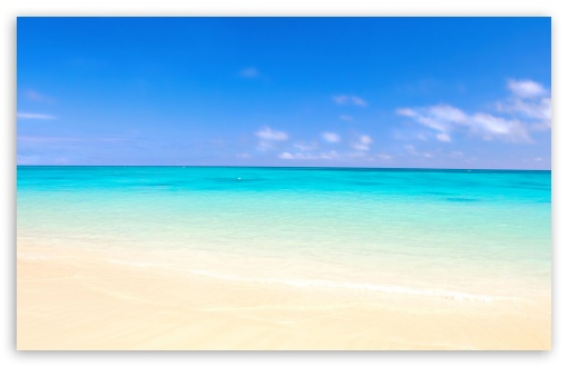 Paradise Beach 4K HD Desktop Wallpaper For 4K Ultra HD TV