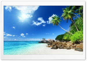 Paradise Beach HD Wide Wallpaper for Widescreen