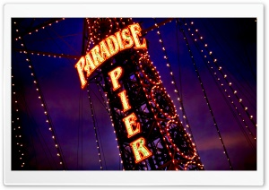 Paradise Pier HD Wide Wallpaper for Widescreen