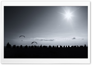 Paragliding HD Wide Wallpaper for 4K UHD Widescreen desktop & smartphone