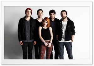 Paramore Band HD Wide Wallpaper for 4K UHD Widescreen desktop & smartphone