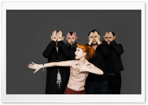 Paramore Photoshoot HD Wide Wallpaper for Widescreen