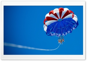Parasailing HD Wide Wallpaper for Widescreen