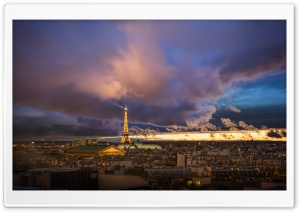 Paris After the Storm HD Wide Wallpaper for 4K UHD Widescreen desktop & smartphone