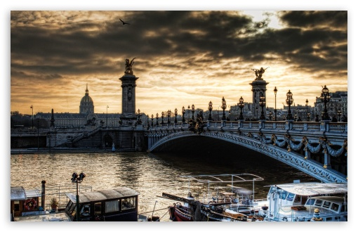 Paris Bridge HD wallpaper for Wide 16:10 5:3 Widescreen WHXGA WQXGA WUXGA WXGA WGA ; HD 16:9 High Definition WQHD QWXGA 1080p 900p 720p QHD nHD ; Standard 4:3 5:4 3:2 Fullscreen UXGA XGA SVGA QSXGA SXGA DVGA HVGA HQVGA devices ( Apple PowerBook G4 iPhone 4 3G 3GS iPod Touch ) ; iPad 1/2/Mini ; Mobile 4:3 5:3 3:2 16:9 5:4 - UXGA XGA SVGA WGA DVGA HVGA HQVGA devices ( Apple PowerBook G4 iPhone 4 3G 3GS iPod Touch ) WQHD QWXGA 1080p 900p 720p QHD nHD QSXGA SXGA ;