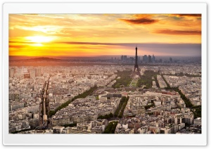 Paris City HD Wide Wallpaper for Widescreen