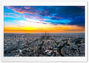Paris Cityscape HD Wide Wallpaper for 4K UHD Widescreen desktop & smartphone