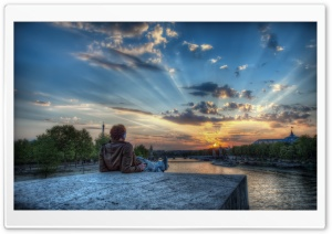 Paris HDR HD Wide Wallpaper for Widescreen
