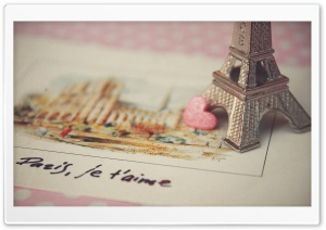 Paris Je T'aime HD Wide Wallpaper for Widescreen