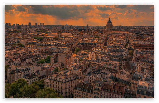 Paris Panorama Sunset HD wallpaper for Wide 16:10 5:3 Widescreen WHXGA WQXGA WUXGA WXGA WGA ; HD 16:9 High Definition WQHD QWXGA 1080p 900p 720p QHD nHD ; Standard 4:3 5:4 3:2 Fullscreen UXGA XGA SVGA QSXGA SXGA DVGA HVGA HQVGA devices ( Apple PowerBook G4 iPhone 4 3G 3GS iPod Touch ) ; Tablet 1:1 ; iPad 1/2/Mini ; Mobile 4:3 5:3 3:2 16:9 5:4 - UXGA XGA SVGA WGA DVGA HVGA HQVGA devices ( Apple PowerBook G4 iPhone 4 3G 3GS iPod Touch ) WQHD QWXGA 1080p 900p 720p QHD nHD QSXGA SXGA ;