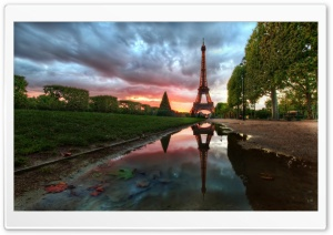 Paris Reflections HD Wide Wallpaper for 4K UHD Widescreen desktop & smartphone