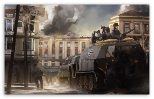 Paris War Painting HD wallpaper for Wide 16:10 5:3 Widescreen WHXGA WQXGA WUXGA WXGA WGA ; HD 16:9 High Definition WQHD QWXGA 1080p 900p 720p QHD nHD ; Standard 4:3 3:2 Fullscreen UXGA XGA SVGA DVGA HVGA HQVGA devices ( Apple PowerBook G4 iPhone 4 3G 3GS iPod Touch ) ; Tablet 1:1 ; iPad 1/2/Mini ; Mobile 4:3 5:3 3:2 16:9 - UXGA XGA SVGA WGA DVGA HVGA HQVGA devices ( Apple PowerBook G4 iPhone 4 3G 3GS iPod Touch ) WQHD QWXGA 1080p 900p 720p QHD nHD ;