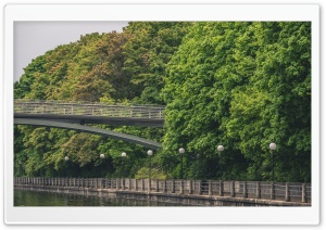 Park Bridge HD Wide Wallpaper for 4K UHD Widescreen desktop & smartphone