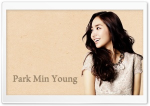 Park Min Young HD Wide Wallpaper for Widescreen