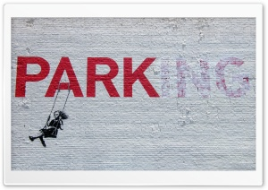 Parking Graffiti HD Wide Wallpaper for 4K UHD Widescreen desktop & smartphone