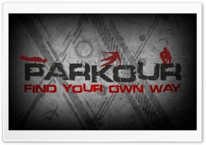 Parkour HD Wide Wallpaper for Widescreen