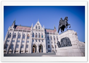 Parliament in Budapest Ultra HD Wallpaper for 4K UHD Widescreen desktop, tablet & smartphone