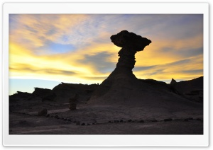 Parque Nacional Ischigualasto-Valle de la Luna, ARGENTINA HD Wide Wallpaper for Widescreen