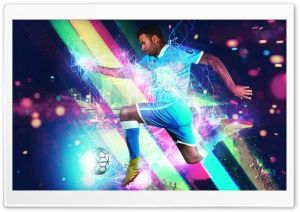 Particle Football HD Wide Wallpaper for 4K UHD Widescreen desktop & smartphone