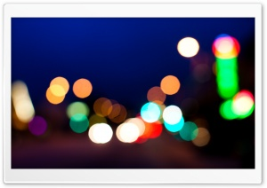 Pasadena Bokeh HD Wide Wallpaper for Widescreen