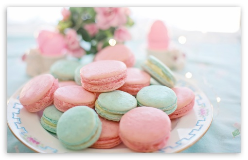 Pastel Macarons Aesthetic Ultra Hd Desktop Background Wallpaper For 4k Uhd Tv Widescreen Ultrawide Desktop Laptop Tablet Smartphone