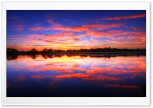 Pastel Sunset HD Wide Wallpaper for Widescreen