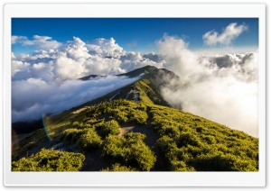 Path On Mountain HD Wide Wallpaper for Widescreen