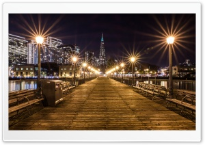 Path to the Transamerica Pyramid building Ultra HD Wallpaper for 4K UHD Widescreen desktop, tablet & smartphone
