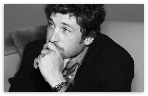 Patrick Dempsey Black And White HD wallpaper for Wide 16:10 5:3 Widescreen WHXGA WQXGA WUXGA WXGA WGA ; HD 16:9 High Definition WQHD QWXGA 1080p 900p 720p QHD nHD ; Standard 4:3 5:4 3:2 Fullscreen UXGA XGA SVGA QSXGA SXGA DVGA HVGA HQVGA devices ( Apple PowerBook G4 iPhone 4 3G 3GS iPod Touch ) ; Tablet 1:1 ; iPad 1/2/Mini ; Mobile 4:3 5:3 3:2 16:9 5:4 - UXGA XGA SVGA WGA DVGA HVGA HQVGA devices ( Apple PowerBook G4 iPhone 4 3G 3GS iPod Touch ) WQHD QWXGA 1080p 900p 720p QHD nHD QSXGA SXGA ;