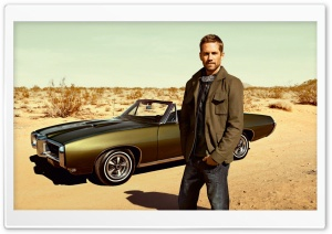 Paul Walker HD Wide Wallpaper for Widescreen