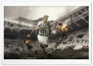 Paulo Dybala 2016 HD Wide Wallpaper for 4K UHD Widescreen desktop & smartphone