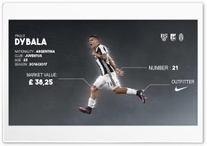 Paulo Dybala HD Wide Wallpaper for Widescreen