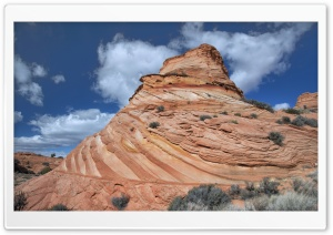 Paw Hole, Coyote Buttes South, Vermilion Cliffs National Monument Ultra HD Wallpaper for 4K UHD Widescreen desktop, tablet & smartphone