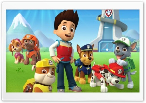 Paw Patrol HD Wide Wallpaper for Widescreen