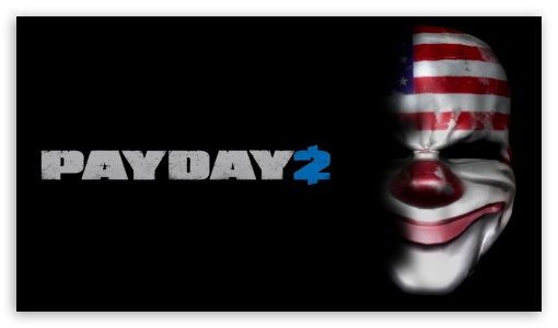 Payday 2 Ultra Hd Desktop Background Wallpaper For 4k Uhd Tv