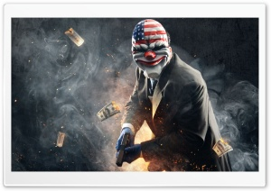 Payday 2 HD Wide Wallpaper for 4K UHD Widescreen desktop & smartphone