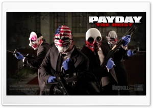 Payday HD Wide Wallpaper for 4K UHD Widescreen desktop & smartphone