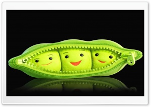 Pea Cute By K23 HD Wide Wallpaper for Widescreen