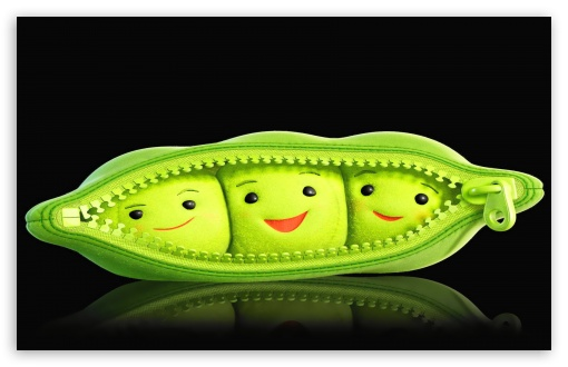 Pea Cute By K23 HD wallpaper for Wide 16:10 5:3 Widescreen WHXGA WQXGA WUXGA WXGA WGA ; HD 16:9 High Definition WQHD QWXGA 1080p 900p 720p QHD nHD ; Mobile 5:3 16:9 - WGA WQHD QWXGA 1080p 900p 720p QHD nHD ;