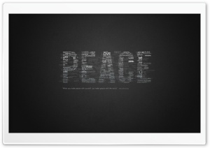 Peace HD Wide Wallpaper for Widescreen