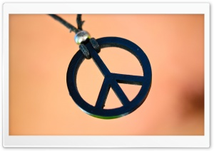 Peace And Love HD Wide Wallpaper for Widescreen