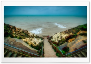 Peacehaven Cliff Ultra HD Wallpaper for 4K UHD Widescreen desktop, tablet & smartphone