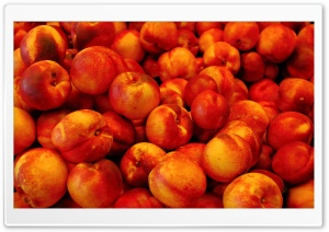 Peaches Heap HD Wide Wallpaper for Widescreen