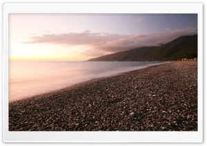 Pebbles Beach HD Wide Wallpaper for 4K UHD Widescreen desktop & smartphone