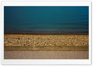 Pebbles On The Beach HD Wide Wallpaper for Widescreen