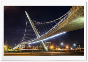 Pedestrian Bridge HD Wide Wallpaper for Widescreen