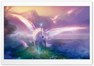 Pegasus HD Wide Wallpaper for Widescreen