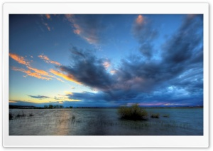 Pelican Lake Storm HD Wide Wallpaper for Widescreen